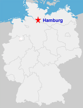 Hamburg Germany Map Hamburg ...
